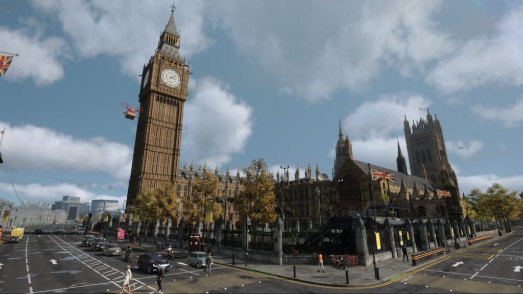 Watch Dogs: Legion Palace of Westminster