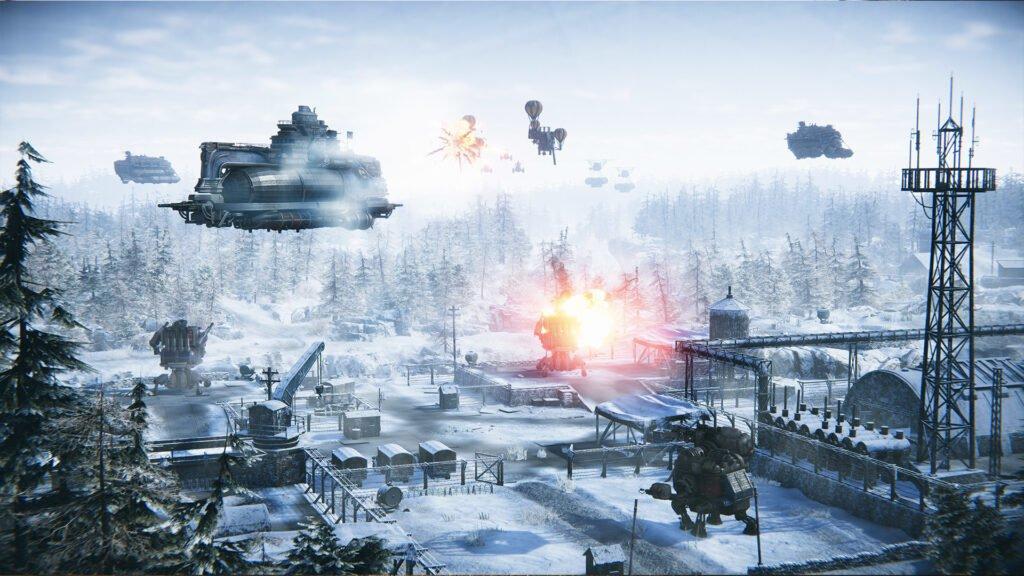 Operation Eagle - Snowy battle