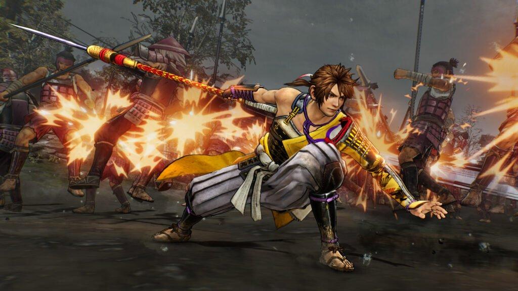 Samurai Warriors 5 battle